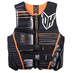 HO Sports Mens System Life Jacket M BLACK/ORANGE 86000004