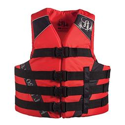 Absolute Outdoor Full Throttle Adult Nylon Water Sports Vest