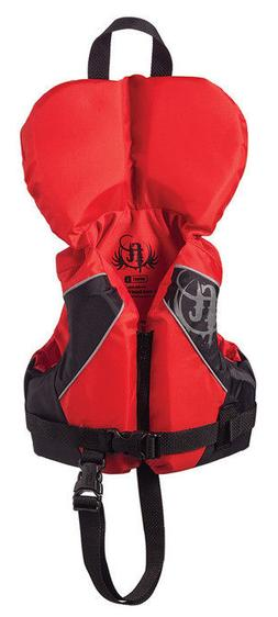 Full Throttle Infant Nylon Water Sports Vest, Red