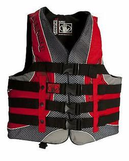 Body Glove Torque 2 Mens Adult Large Nylon 4 Belt PFD Life J