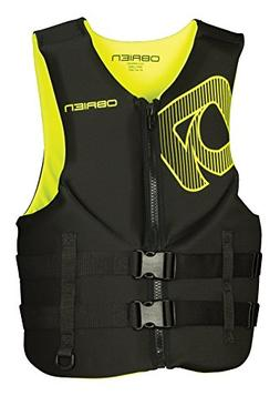 O'Brien Traditional Neo Life Men's Vest, Yellow, X-Small