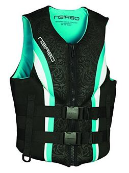 O'Brien Women's Traditional Neo Life Vest, Teal, X-Small