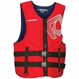 O'Brien Traditional Neo Life Men's Vest, Red, Small
