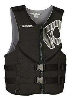 O'Brien Traditional Neo Life Men's Vest, Black, 3X-Large