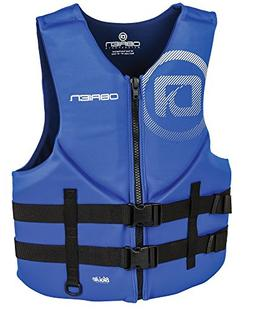 O'Brien Men's Traditional Neoprene Life Jacket, Blue, Small