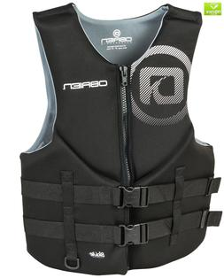 O'Brien Men's Traditional Neoprene Life Jacket, Black, Large