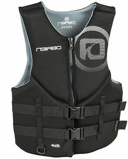 O'Brien Men's Traditional Neoprene Life Jacket, Black, XX-La