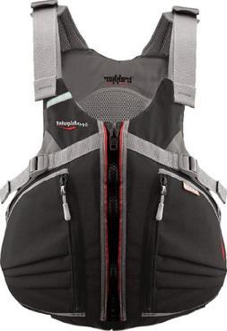 Stohlquist Trekker Kayak PFD Lifejacket-Black-L/XL