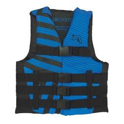 Airhead Trend Mens Closed Side Life Vest-XS-Blue/Black SKU: