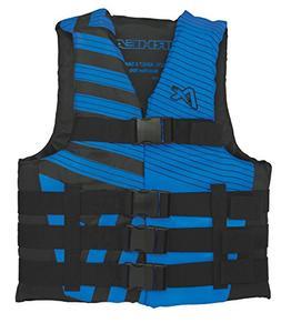 Airhead Trend Mens Closed Side Life Vest-4XL/6XL-Blue/Black