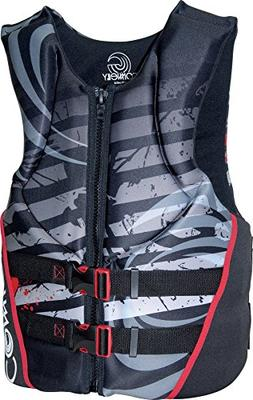 U-Back Neoprene Vest, , Small  , Grey