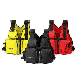 Universal 53x39x20cm Nylon Adult Adjustable Life Jacket Mull