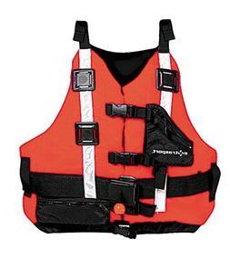 Extrasport Universal Rescuer Lifejacket-Red-Universal