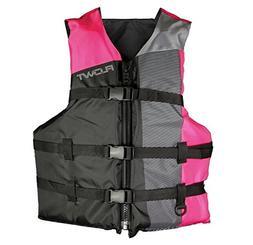 Flowt 40310-2-UNV Multi Sport Life Vest, Type III PFD, Pink,