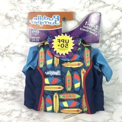 Puddle Jumper UPF 50+ 2-In-1 Kids Life Jacket & Rash Guard 3