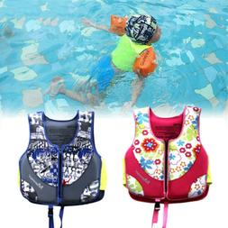 US Child Kids Sports Swimming Floating Swim Aid Vest Buoyanc