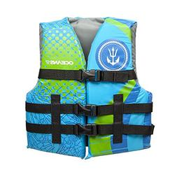 Oceans7 US Coast Guard Approved, Youth Life Jacket, Type III