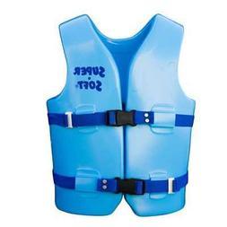 Medium USCG Approved Child's Vinyl Vest, Aquamarine