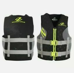 Stearns V1 Series Small Mens Boating Vest, Life Jacket, Pers