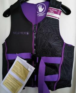 BODY GLOVE Vest Life Jacket PFD Wake Boarding Rafting  Women