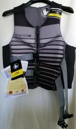 BODY GLOVE Vest Life Jacket PFD Wake Boarding, Rafting  Men