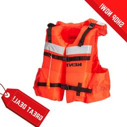 Vest Style Life Jacket Adult Coast Guar Approved Sports Outd
