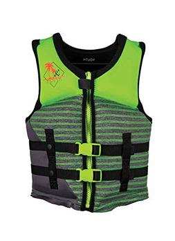 Ronix Vision Boy's - CGA Life Vest - Lime Heather - Youth