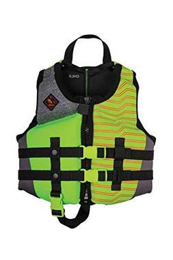Ronix Vision Boy's - CGA Life Vest - Lime Heather - Child