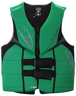 O'Neill Wetsuits Men's Wake Waterski Reactor 3 USCG Vest, Da
