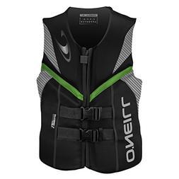 O'Neill Wetsuits Men's Wake Waterski Reactor ULC Vest, Black