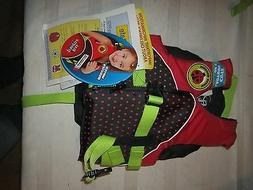 Full Throttle Water Buddies Child Life Vest Lady Bug 30-50 l