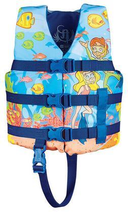 Full Throttle Water Buddies Child SNORKEL Life Jacket Type I