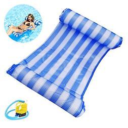 Comtervi Water Hammock Water air Mattress Inflatable Swimmin