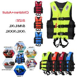 Water Sports Adult Kid Life Jacket Swimming Boating Surfing