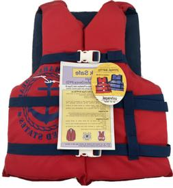 Kent water sports life Jacket Vest Adult universal Red chest