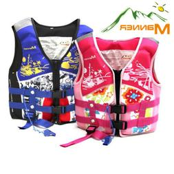 Water Sports Life Vest For Kids Swimming Aid Life Jacket Adu
