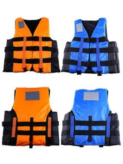 Water Sports Outdoor Polyester Adult Life Jacket Swimming Bo