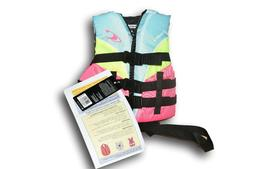 ONeill Wetsuits Life Jackets Vests Wake Waterski Child Super