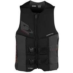 O'Neill Wetsuits Wake Waterski Mens Assault USCG Life Vest,