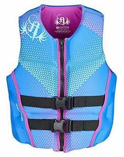 Full Throttle Women's Hinged Rapid-Dry Flex-Back Life Vest,