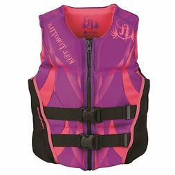 Full Throttle Women's Hinged Rapid-Dry Flex-Back Vest, Purpl