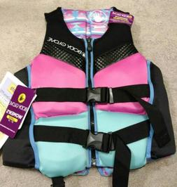 Body Glove Women's PFD Life Jacket Swim Vest Aqua Pink   new