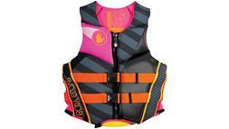 Body Glove Women's Phantom Neoprene Life Jacket Black/Pink X