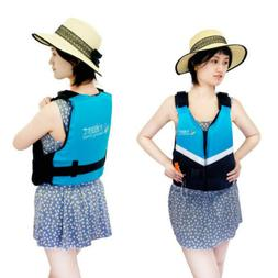 Women Training Surfing Life Jacket Reflective Buoyancy Life