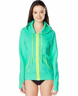 Body Glove Womens Forecast Live It Up Jacket Hoodie Cover-up