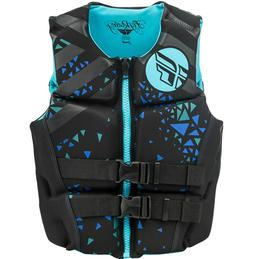 Womens NEOPRENE Life Jacket Fly Racing Safety Vest Full Zip