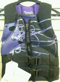 Slippery Wetsuits Womens XS Extra Small Purple Life Jacket V
