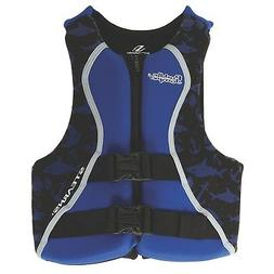x-22Coleman Puddle Jumper Youth Hydroprene Life Jacket Aqua