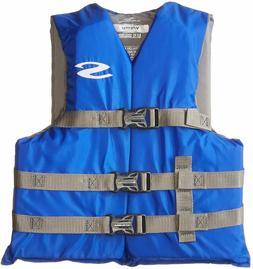 Youth 50-90 LBS Stearns Blue Life Jacket Wakeboard Vest Ski