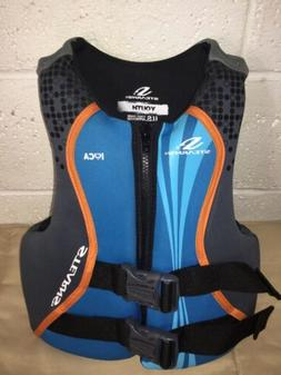 Stearns Youth Hydroprene Life Vest Life Jacket 50-90lbs Blue